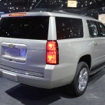 2015 Chevrolet Suburban rear three quarters