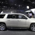 2015 Chevrolet Suburban side view