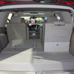 2015 Chevrolet Tahoe boot space