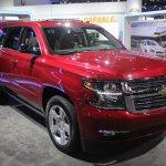 2015 Chevrolet Tahoe front quarter