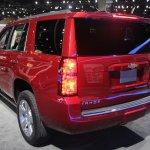 2015 Chevrolet Tahoe rear quarter