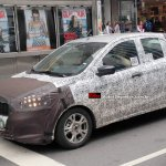 2015 Ford Figo spied front three quarter