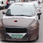 2015 Ford Figo spied front