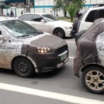 2015 Ford Figo spied side