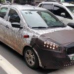 2015 Ford Figo spied