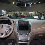 2015 Lincoln MKC dashboard