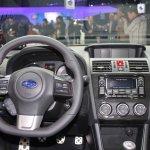 2015 Subaru WRX cockpit