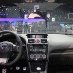 2015 Subaru WRX dashboard