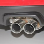 2015 Subaru WRX exhaust tip