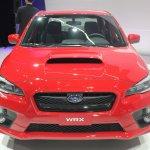 2015 Subaru WRX front view