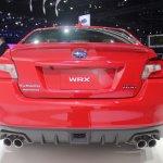 2015 Subaru WRX rear fascia