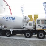 AMW 3118 TM transit mixer at EXCON 2013