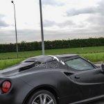 Alfa Romeo 4C convertible side view