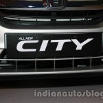 All New Honda City in India front bumper