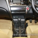 All New Honda City in India gearlever