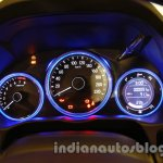 All New Honda City in India instrument cluster ON