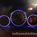 All New Honda City in India instrument cluster off