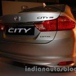 All New Honda City in India rear quarter