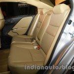 All New Honda City in India rear seat legroom