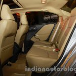 All New Honda City in India rear seats