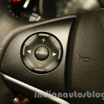All New Honda City in India steering mounted controls