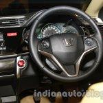 All New Honda City in India steering wheel