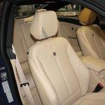 Alpina B4 BiTurbo Coupe seats