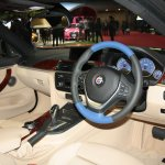Alpina B4 BiTurbo Coupe steering