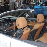 BMW 4 Series Convertible cabin