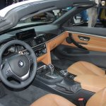 BMW 4 Series Convertible dashboard