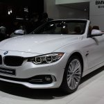 BMW 4 Series Convertible front three quarters