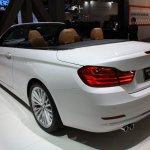 BMW 4 Series Convertible rear quarter