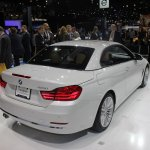 BMW 4 Series Convertible rear three quarter