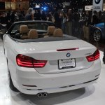 BMW 4 Series Convertible rear three quarters left