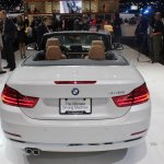 BMW 4 Series Convertible rear