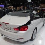 BMW 4 Series Convertible roof deploying 1