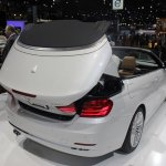 BMW 4 Series Convertible roof deploying 2