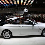 BMW 4 Series Convertible roof folding