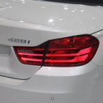 BMW 4 Series Convertible taillight