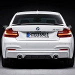BMW M Performance parts for BMW 2 Series rear