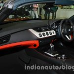 BMW Z4 facelift India center console