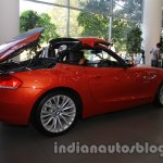BMW Z4 facelift India folding roof stage 2