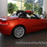 BMW Z4 facelift India folding roof stage 3