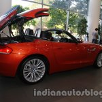 BMW Z4 facelift India folding roof