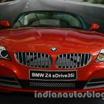 BMW Z4 facelift India front fascia