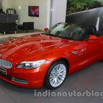BMW Z4 facelift India front three quarters right