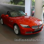 BMW Z4 facelift India front three quarters