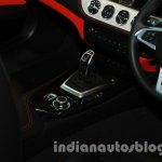 BMW Z4 facelift India gear shifter