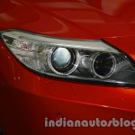 BMW Z4 facelift India headlamp