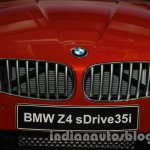 BMW Z4 facelift India kidney grille